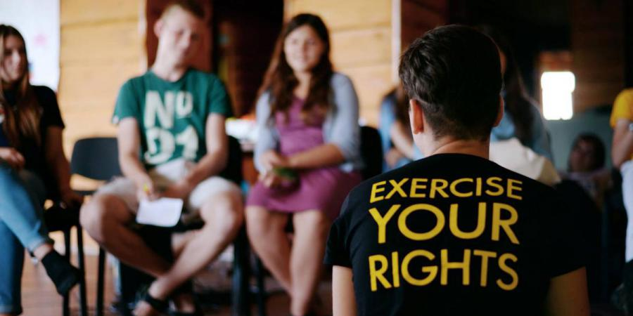 Excercise your rights.День прав людини