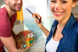 Творчі майстер-класи на романтичних побаченнях