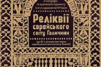 Виставка «Реліквії єврейського світу Галичини»