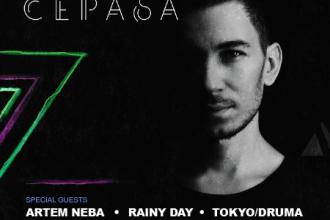 EVE8 запрошує Cepasa x Artem Neba x Rainy Day x Tokyo