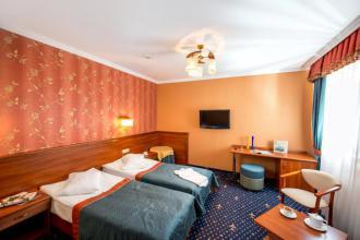 Двомісний номер з 1 двоспальним ліжком або 2 окремими ліжками