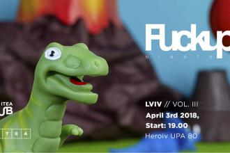 FuckUp Nights Lviv Vol. III