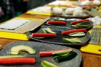 Майстер-клас по приготуванню суші