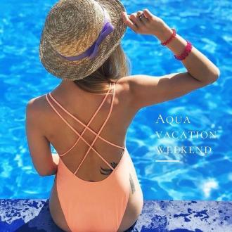 постер Aqua Vacation Weekend