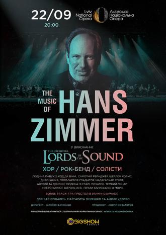 постер Lords of the Sound. The Music of Hans Zimmer
