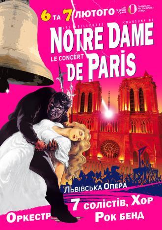 постер NOTRE DAME de PARIS Le Concert