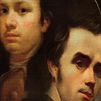 постер Виставка «Споріднені душі: Франсіско де Гойя, Тарас Шевченко, Карлос Лаос»
