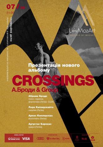 постер Концерт-презентація нової програми Абраама Броди (США)