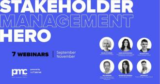 постер Stakeholder Management Hero | Education Course