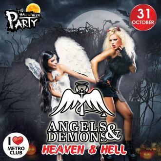 постер ANGELS&DEMONS / HEAVEN&HELL