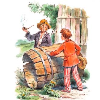 постер Дитяча вистава «Пригоди Тома Сойєра»