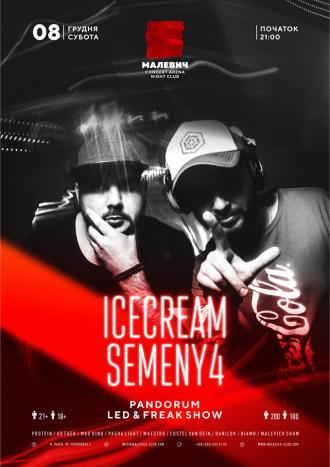 постер  Icecream & Semeny4