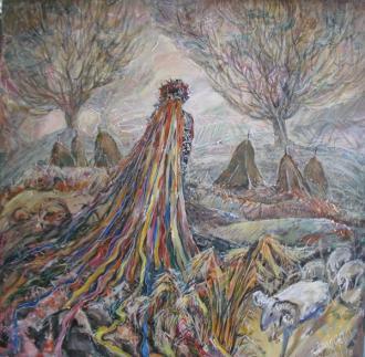 постер Виставка Ірини Фартух «Образи, що наснилися»