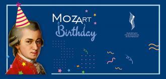 постер Mozart BirthDay. Три Моцарти