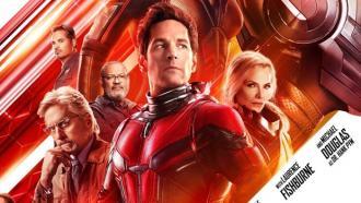 постер Людина-мураха та Оса