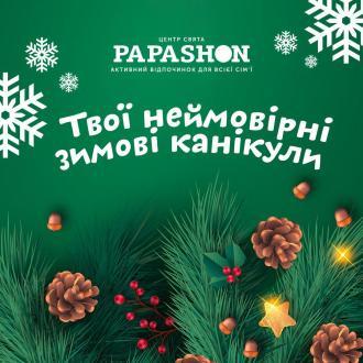постер Твої незабутні зимові канікули в Papashon