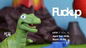 постер FuckUp Nights Lviv Vol. III