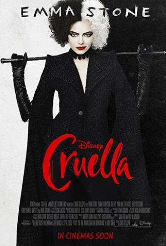 постер Cruella (мовою оригіналу) (12+)