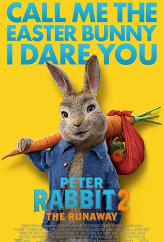 постер Peter Rabbit 2: The Runaway (мовою оригіналу) (0+)