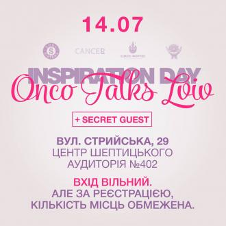 постер  Inspiration Day. Onco Talks Lviv