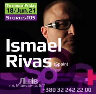 постер Зустріч з відомим іспанським ді-джеєм Ismael Rivas!