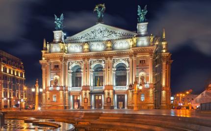 фото Афіша львівської опери у 2019 році
