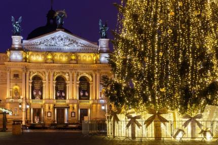 фото Новий рік 2021 у Львові: які заходи відбуватимуться у місті на свята