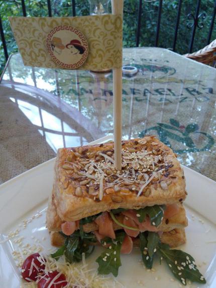 фото Фітнес сандвіч з лососем